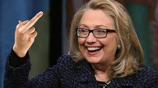 Hillary Shows Bernie Supporters Her Middle Finger, Again