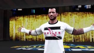 WWE 2K16 cm punk entrance + wrestlemania 29 arena