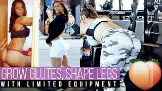 Grow Glutes, Shape Legs, Limited Equipment - Linda Durbesson