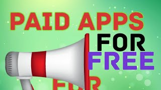 Google Paid apps for Free. Offer