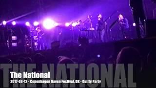 The National - 2017-08-12 - Copenhagen Haven Festival, DK - Guilty Party