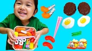 ちゃめっこタイム おべんとうで遊んだよ♪おもちゃ ごっこ遊び☆おままごと himawari-CH