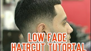 How to do Low Drop Fade with Longer Hair on Top! Haircut Tutorial
