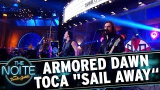 "Armored Dawn toca ""Sail Away"" | The Noite (29/11/17)"