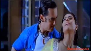 Kajol Hot Sexy Kissing Scene Boobs Bouncing Rain Hot Scene Kajol Ajay Devgan Full Hot Sexy Scene