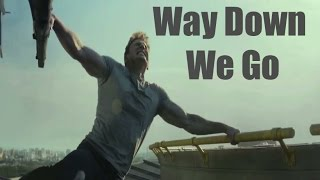 Way Down We Go -  Captain America Civil War Trailer Steve Bucky