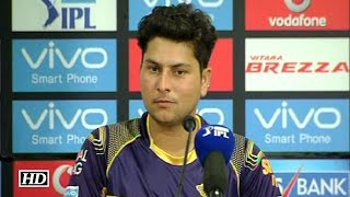 IPL9 KKR vs SRH: Kolkata Reaches Play-Off; Kuldeep Yadav Reacts