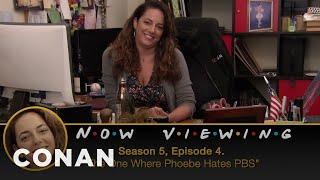 "Conan Checks In On Sona's ""Friends"" Marathon - CONAN on TBS"