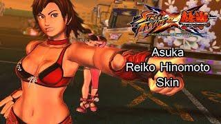 Asuka as Reiko Hinomoto (Rumble Roses) - Street Fighter X Tekken