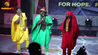 GHANAIAN VETERANS VVIP PERFORM THEIR OLD TUNES VIP AT #AFRIMA3.0 2016