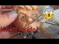 WHATS INSIDE DONALD TRUMP HEAD SQUISHY