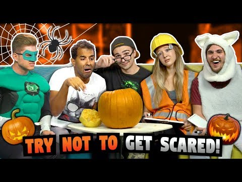 TRY NOT TO GET SCARED CHALLENGE Halloween Special