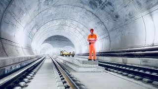 World's Longest Tunnel - How It Was Built - Full Documentary