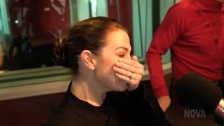 Kate Ritchie bursts into tears of joy as The Wiggles surprise her