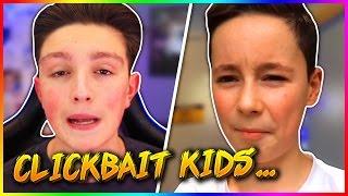 KIDS THAT CLICKBAIT! (Morgz and Durv Rant)