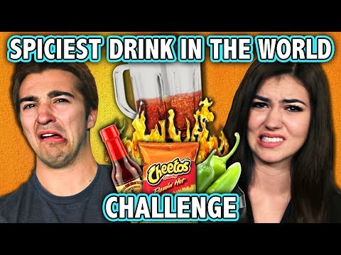 SPICIEST DRINK IN THE WORLD CHALLENGE ft. React Cast Challenge Chalice