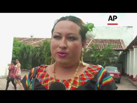 Mexico's Muxe community holds celebration