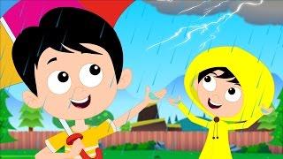 i hear thunder | nursery rhymes videos | kids songs