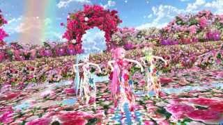 MMD Tda Miku Luka Gumi Girls Rose Garden