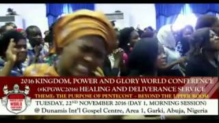 #KPGWC2016 DAY1-PENTECOST AND INFIRMITY