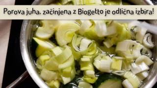 Recept Porova juha z Biogetto