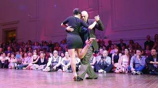 Tango: Valeria Maside y Sergio Molini, 30/4/2017, Brussels Tango Festival, Mixed couples 2/5
