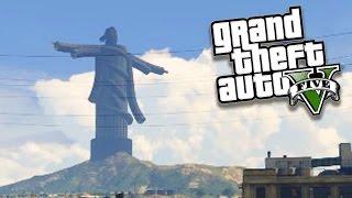 GTA V Online: A estátua INCRÍVEL do CRISTO REDENTOR !!