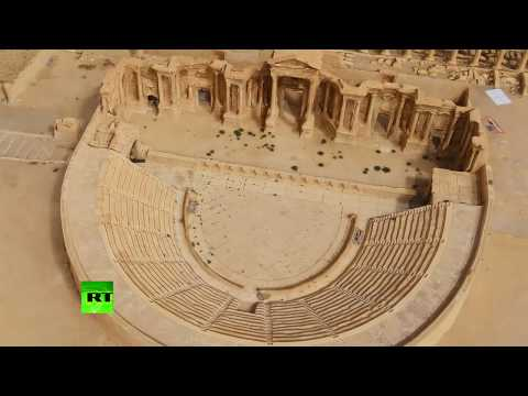 Xxx Mp4 Restored Wonder Palmyra Revived In 3D Thanks To 1 000s Of Drone Images 3gp Sex