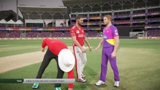 IPL 2017... 4th Match... RPS vs KXIP ..  T20 .. Live...  Don Bradman Cricket 2017