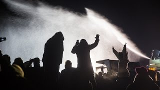 EXCLUSIVE: Proof Oil Police Lying About Using Water Cannons