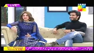 SAJJAL ALI and FEROZ KHAN talking about their relationship in JAGO PAKISTAN JAGO
