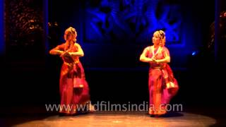 Russian Bharatnatyam Dancer performing at International Dance Festival