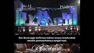Lelaki Mat Salleh Ni Tanya Soalan MENCABAR MINDA Umat Islam - Dr Zakir Naik Malay Subtitle