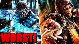 10 WORST Mortal Kombat Fatalities!