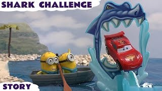 Cars Funny Minions Shark Avengers Star Wars Thomas and Friends Hot Wheels Shark Cars Challenge