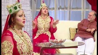 Orya Maqbool Fully Enjoying Mia Bai Charecter In Sawa Teen