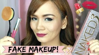 FAKE Divisoria Makeup Review (FAKE versus ORIGINAL Makeup!) | RealAsianBeauty
