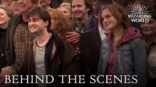 Harry Potter Cast Says Goodbye | Wizarding World