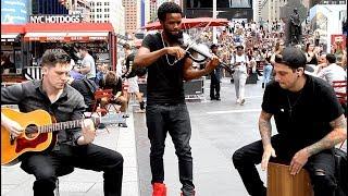Shinsuke Nakamura's theme surprises people on NYC streets