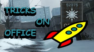 TOP 12 TRICKS AND SPOTS ON OFFICE #2 [CS:GO]