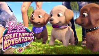 The Willow Puzzle | Barbie & Her Sisters in a Great Puppy Adventure | Barbie