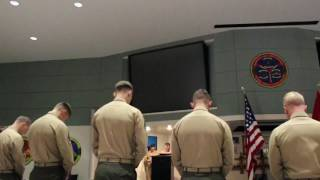ISULC (Infantry Small Unit Leaders Course) Class 2-17 Graduation