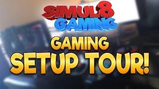 Setup Tour - Simul8 Gaming (Filmed with a Potato)
