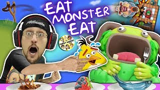 Wrecking Box Forts & FEEDING MY MONSTER ANGRY BIRDS!?! FGTEEV Boyyy!!