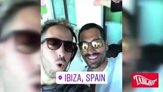 Marco Borriello compie 35 anni, grande festa a Ibiza con l'ex Belen Rodriguez TABLOIT.IT