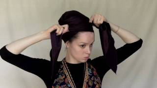 How to tie a royal turban