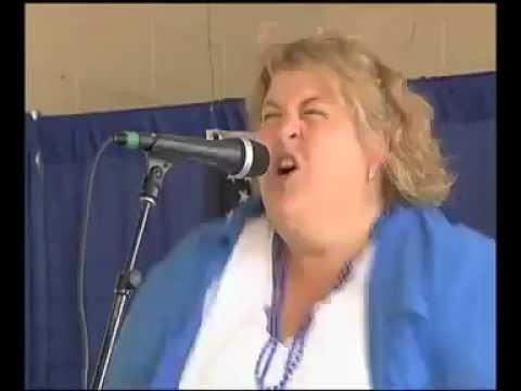 Fat Woman makes pig noises