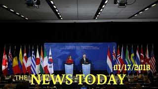News Today 01/17/2018 | Donald Trump | Russia Says North Korea Summit Undermines U.N., Aggravat...