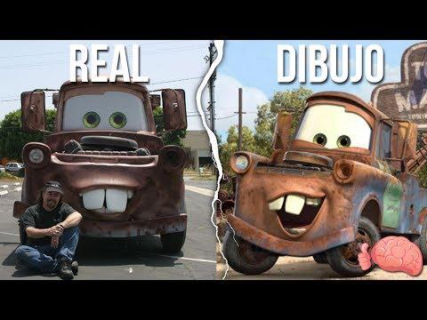 7 Autos REALES Inspirados En DIBUJOS ANIMADOS