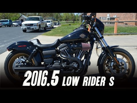 2016.5 Harley Davidson® FXDLS Low Rider® S Vivid Black 110 Screamin Eagle